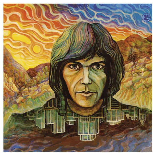 Neil Young Self-Titled Album Cover Art