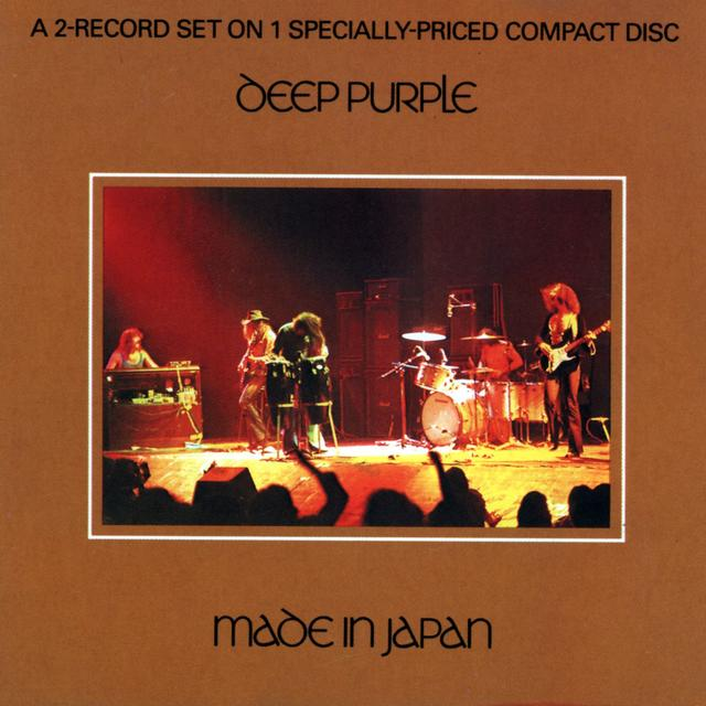 Deep Purple MADE IN JAPAN Album Cover