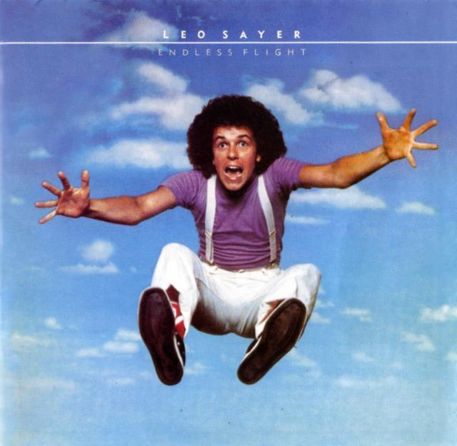 Leo Sayer ENDLESS FLIGHT Album Cover