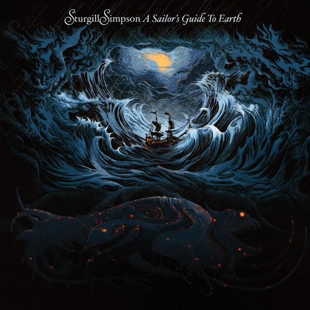 Sturgill Simpson A SAILOR'S GUIDE TO EARTH Album Cover