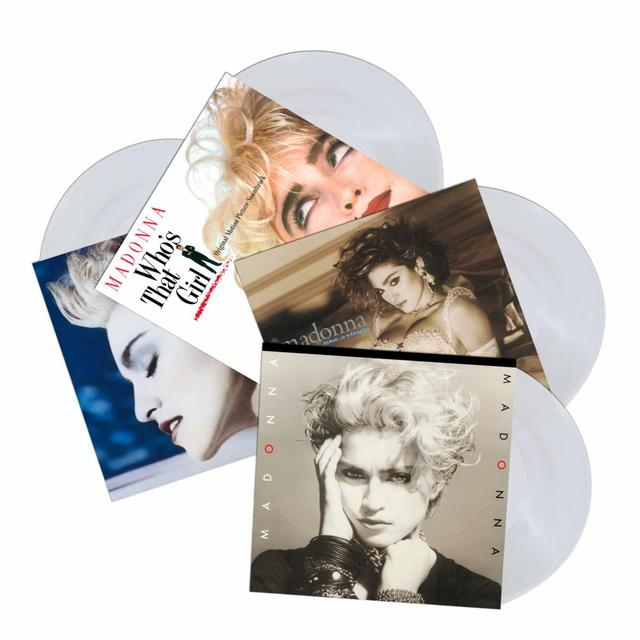 Madonna First Four Albums Crystal Clear Vinyl