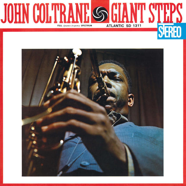 John Coltrane GIANT STEPS 60TH ANNIVERSARY REMASTER Cover
