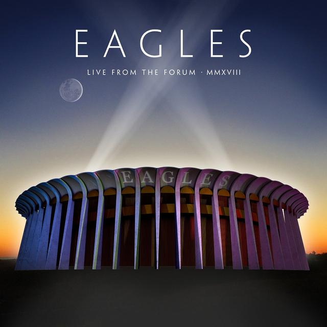 Eagles LIVE AT THE FORUM Cover