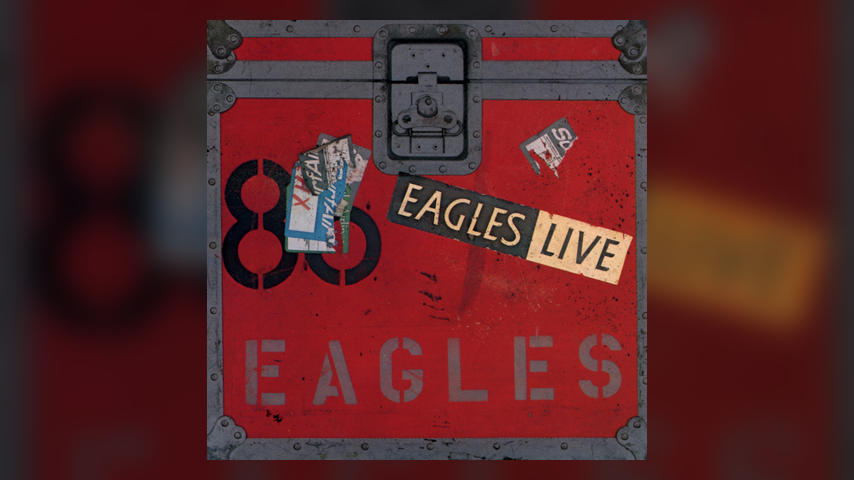 Eagles, EAGLES LIVE Album Cover