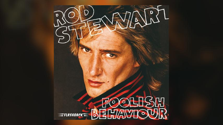 Rod Stewart, FOOLISH BEHAVIOUR Album Cover
