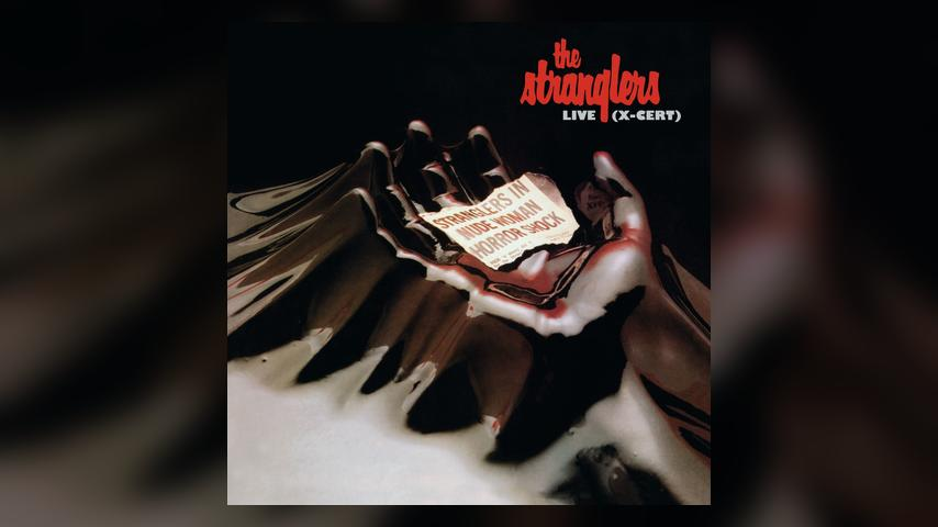 The Stranglers LIVE (X-CERT) Cover Art