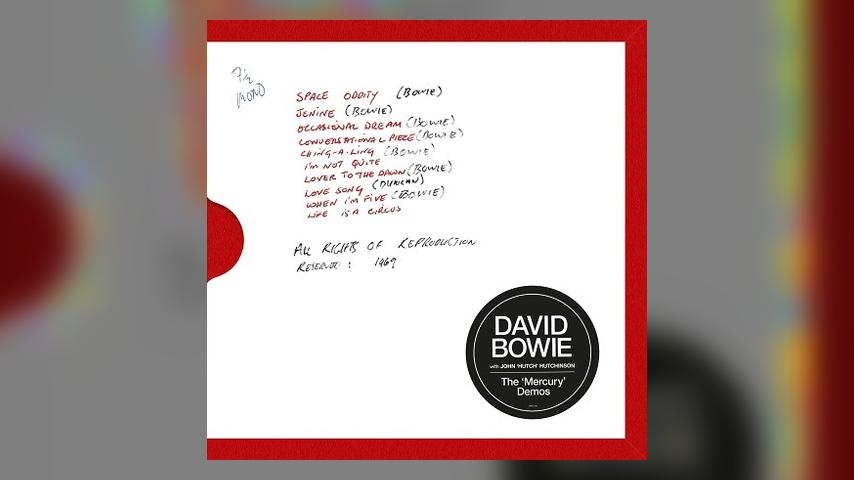 David Bowie THE MERCURY DEMOS  Album Cover