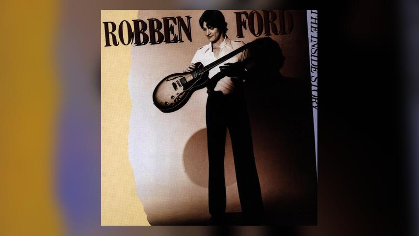 Robben Ford THE INSIDE STORY Album Cover