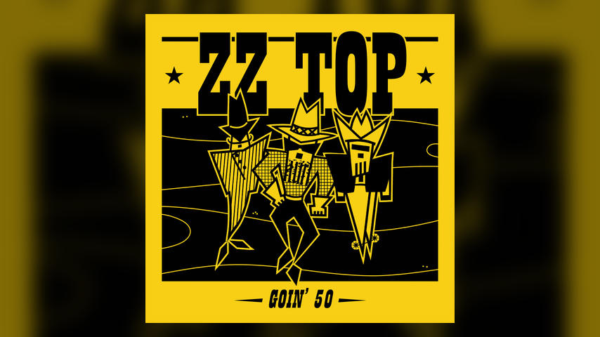 ZZ TOP GOIN 50 Album Cover