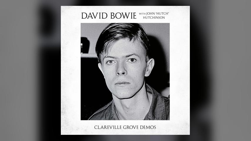 Bowie CLAREVILLE GROVE DEMOS Album Cover