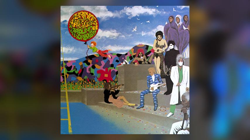 Prince and the Revolution AROUND THE WORLD IN A DAY Album Cover