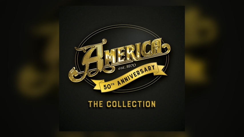 America 50TH ANNIVERSARY COLLECTION Album Cover