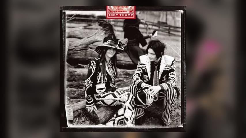The White Stripes ICKY THUMP Album Cover