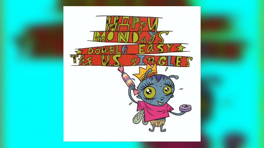 Happy Mondays DOUBLE EASY Album Cover