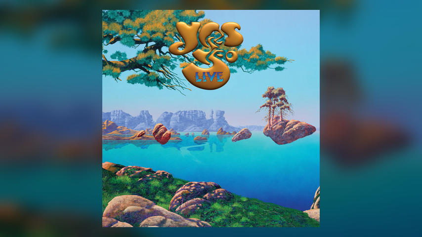 YES:50 LIVE Album Cover