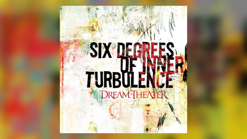 Dream Theater SIX DEGREES OF INNER TURBULENCE Cover