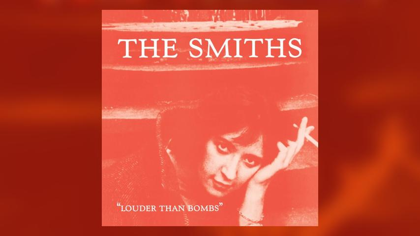 The Smiths LOUDER THAN BOMBS Cover