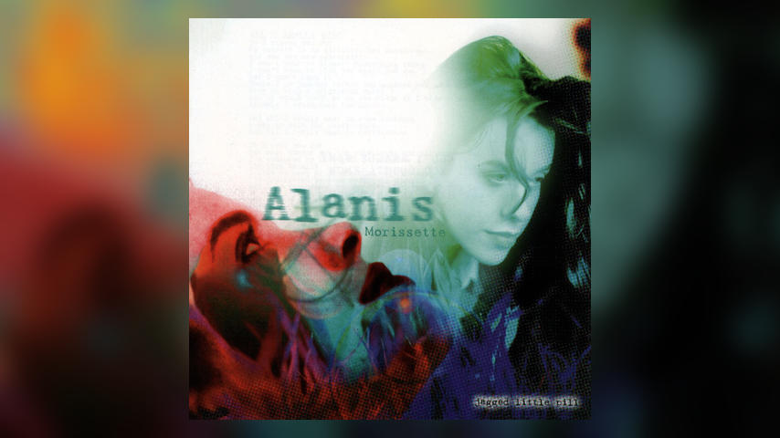 Alanis Morisette JAGGED LITTLE PILL Cover