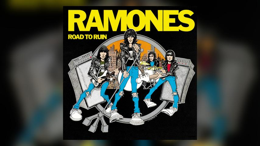 The Ramones ROAD TO RUIN Cover