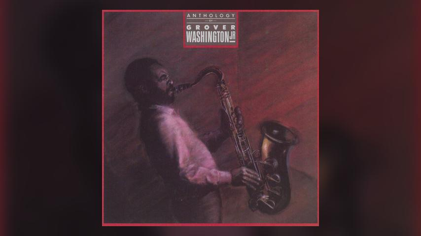 Grover Washington Jr ANTHOLOGY Cover