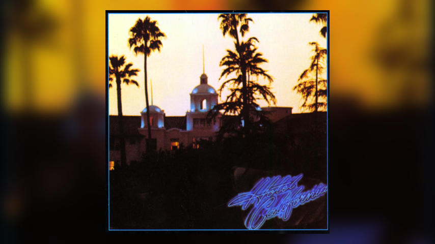 The Eagles HOTEL CALIFORNIA Cover