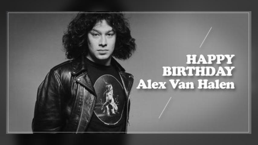 Happy Birthday: Alex Van Halen
