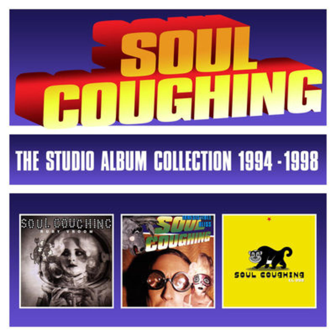 The Studio Album Collection 1994-1998